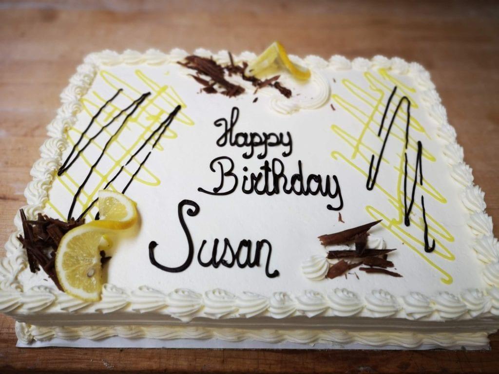 Birthday cake - Custom baking